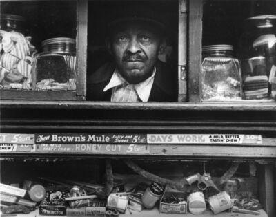 Morris Engel, 'Harlem Merchant, New York City', 1937