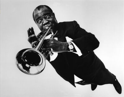 Philippe Halsman, 'Louis Armstrong', 1966