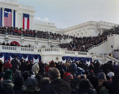 Jerry Spagnoli, 'Obama Inauguration (After Swearing In)', 2009