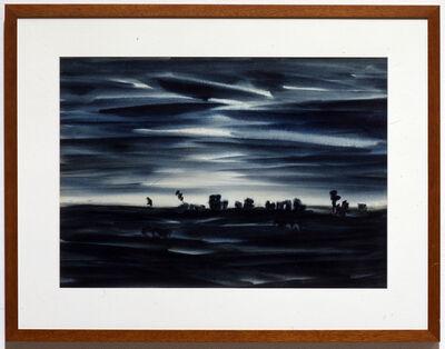 Kazuo Nakamura, 'Twilight Quietude', 1958