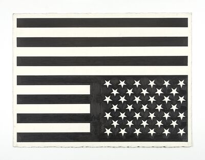 Banks Violette, 'No Title (flag/american recordings)', 2015