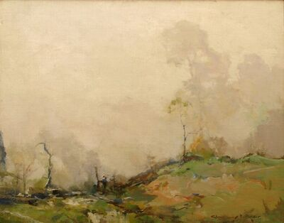 Chauncey Ryder, 'Day in the Fog', 1915
