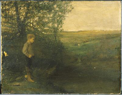 George Fuller, 'Boy Fishing'