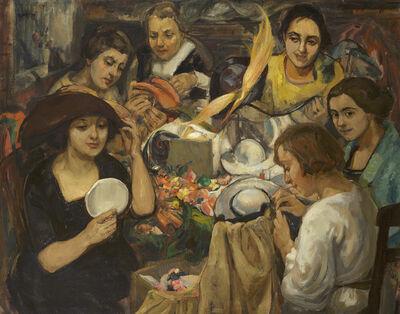 Theresa Bernstein, 'The Milliners', ca. 1919
