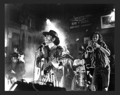 Herman Leonard, 'Coco Robicheaux in concert, New Orleans', 1995