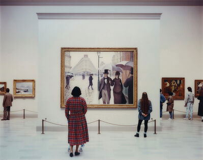Thomas Struth, 'Art Institute of Chicago II, Chicago', 1990