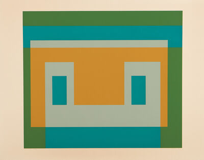 Josef Albers, 'I-S Va I, from Six Variants portfolio (D. 192.1)', 1969