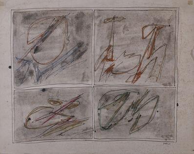 Achille Perilli, 'Senza Titolo', 1962