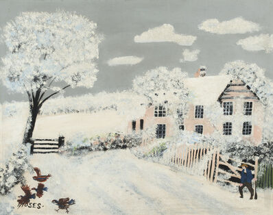 Grandma Moses, 'A Frosty Morning', 1944