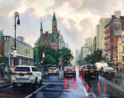 Alexander Masyk, 'Greenwich Village. Rain', 2019