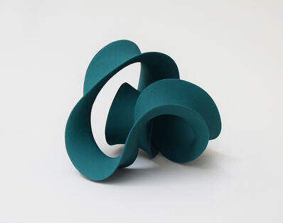 Merete Rasmussen, 'Entwined Form (Blue-Green)', 2020