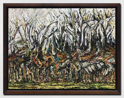 Steven Powers, 'Trees Above Rocks', 2017