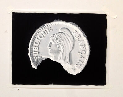 Daniel Arsham, 'Study of The Eroded French Franc Front', 2013