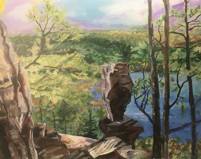 Ann Raskopf, 'Balanced Rock Trail', 2020