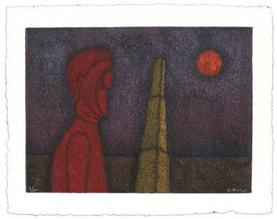Rufino Tamayo, 'Figura en Rojo ( Figure en Red) ', 1989