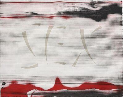 Ed Ruscha, 'Sex', 1991