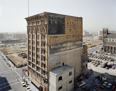 Janet Delaney, 'Mercantile Building, Mission and 3rd Streets, 1980 from South of Market 1978-1986', 1980