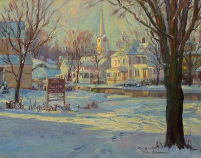 Michael Graves (b.1952), 'Morning Sunlight in Jefferson, VT', 2019