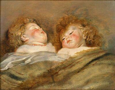 Peter Paul Rubens, 'Two Sleeping Children', c.1612 -1613