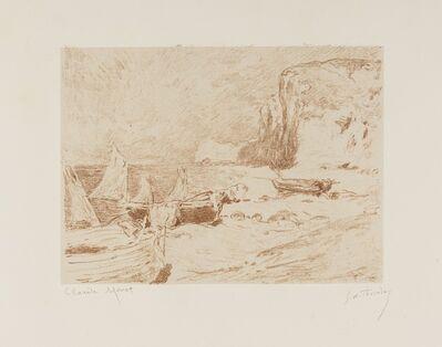 Claude Monet, 'Bateaux de Peche', c. 1890