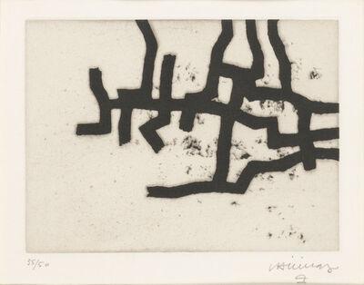 Eduardo Chillida, 'CONTINUATION III (VAN DER KOELEN 66005)', 1966