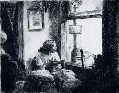 Edward Hopper, 'East Side Interior.', 1922