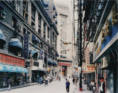 Thomas Struth, 'Jiangxi Zhong Lu, Shanghai', 1996
