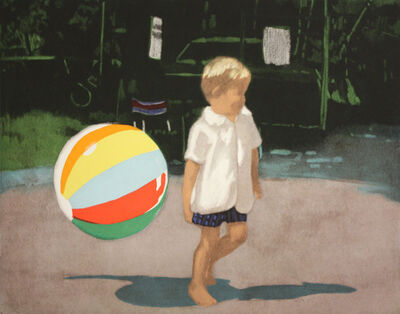 Isca Greenfield-Sanders, 'TOMMY AND THE BALL', 2008