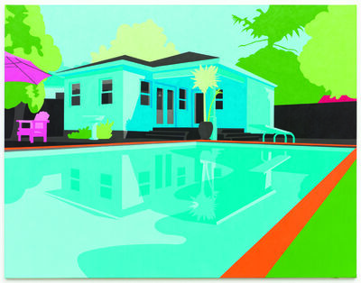 Joanna Lamb, 'Exterior with Pool 01', 2013