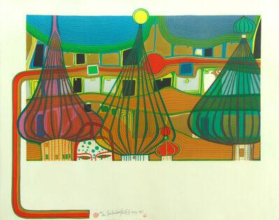 Friedensreich Hundertwasser, ' The Expulsion | L'expulsion', 1967