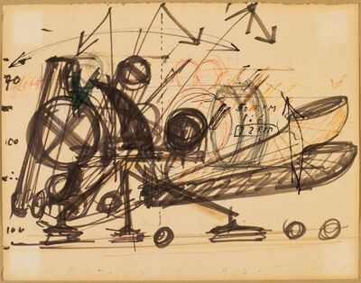 Jean Tinguely, 'Roto ZAZA N° 1', 1967