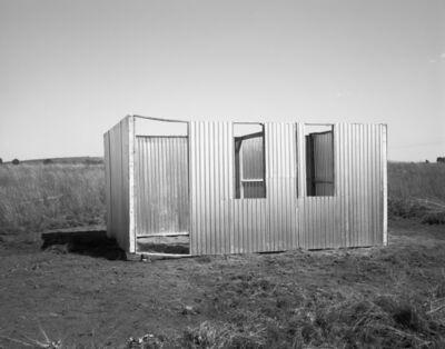 David Goldblatt, 'Structures: A new shack under construction, Lenasia Extension 9, Lenasia, Johannesburg', 1990
