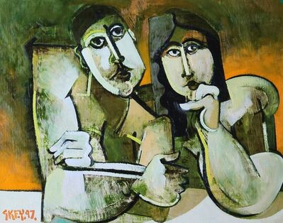 Geoffrey Key, 'Watching II', 1997