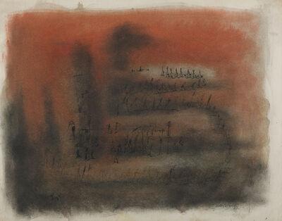 Norman W. Lewis, 'Figures on an Orange Ground', 1951