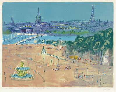 Jean Dufy, 'Pont Alexandre III, Paris'