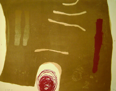 William Scott, 'Scalpay', 1963