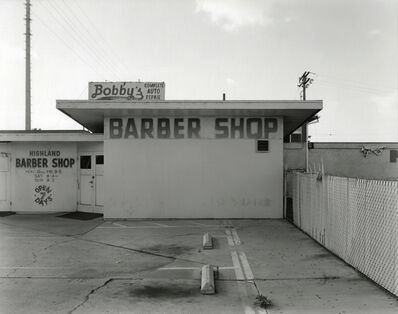 Michael Mulno, 'Barber Shop, National City, CA', 2019