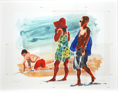 Eric Fischl, 'Untitled  (Man, Woman, and Boy)', 2017