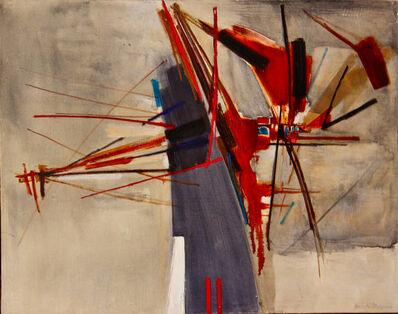 "Huguette Arthur Bertrand, 'Oil on Canvas ""Kablonn - Powanu"" by Huguette Arthur Bertrand', 1959"