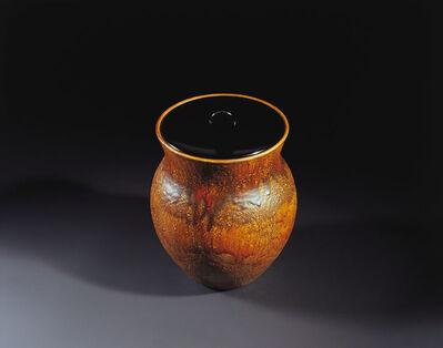 Ohi Toshio, 'Ōhi Amber Tea Water Container 01', 2007