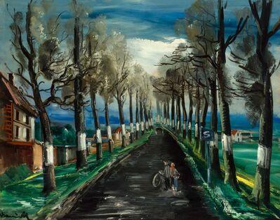 Maurice de Vlaminck, 'La Route Nationale', 1935