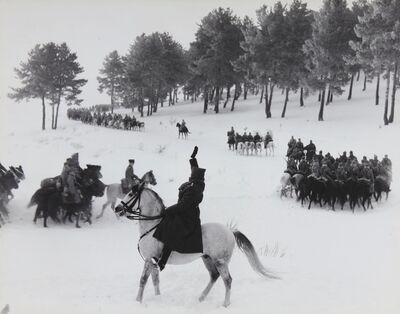 David Douglas Duncan, 'Turkish Cavalry Maneuvers', 1948