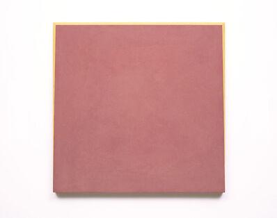 Ettore Spalletti, 'Rosso Porpora, Oro', 2012