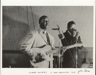 John Cohen, 'Muddy Waters, Isaac Washington', 1959