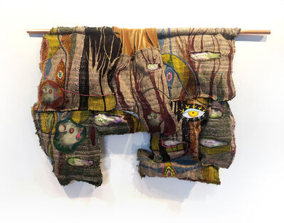 Juliet Martin, 'Textile Handwoven Wall Hanging: 'Forest and Trees'', 2019