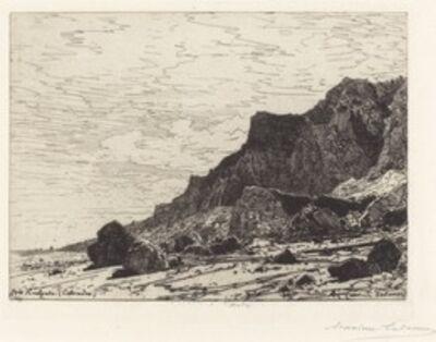 Maxime Lalanne, 'Près Houlgate (Calvados)', 1869