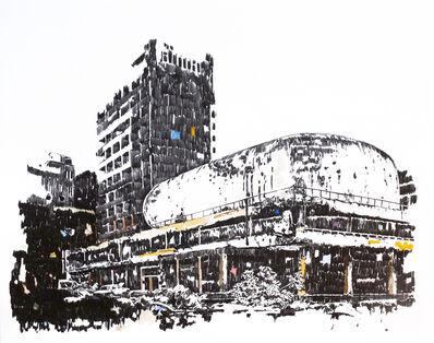 Pascal Berthoud, 'Mémoire d'architecture, le songe de Beyrouth II', 2016