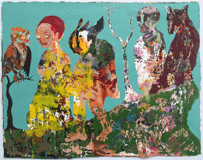 Aaron Johnson, 'Cliff Walkers', 2016