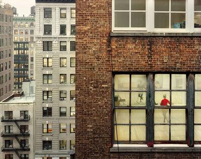 Gail Albert Halaban, 'West 26th Street between Broadway and 6th Avenue, Dance Studio', 2009