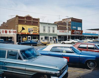 Stephen Shore, 'Main Street, Redfield, South Dakota, July 13', 1973